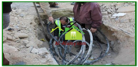 اصلاح شبكات المياه بالرياض